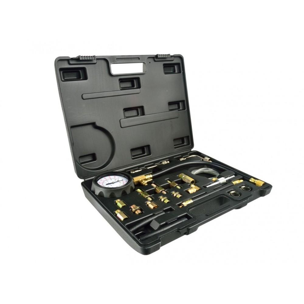 Тестер манометр для измерения давления топлива универсальный GEKO G02503
