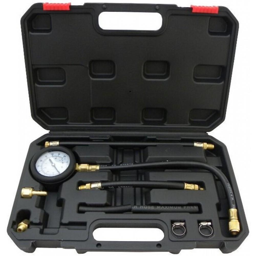 Тестер манометр для измерения давления топлива универсальный GEKO G02501