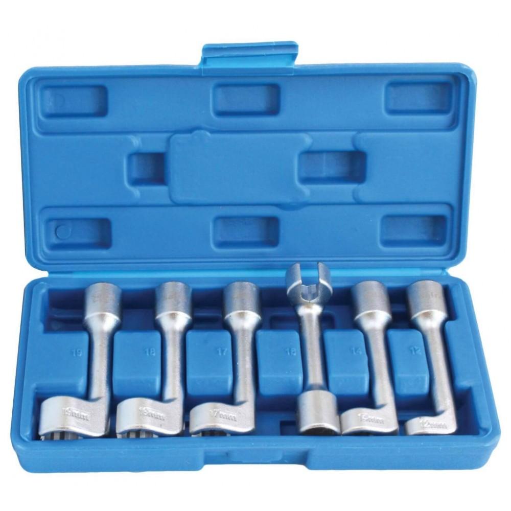 Набор ключей для форсунок разрезных L-образных 6 ед. SATRA S-6DI12