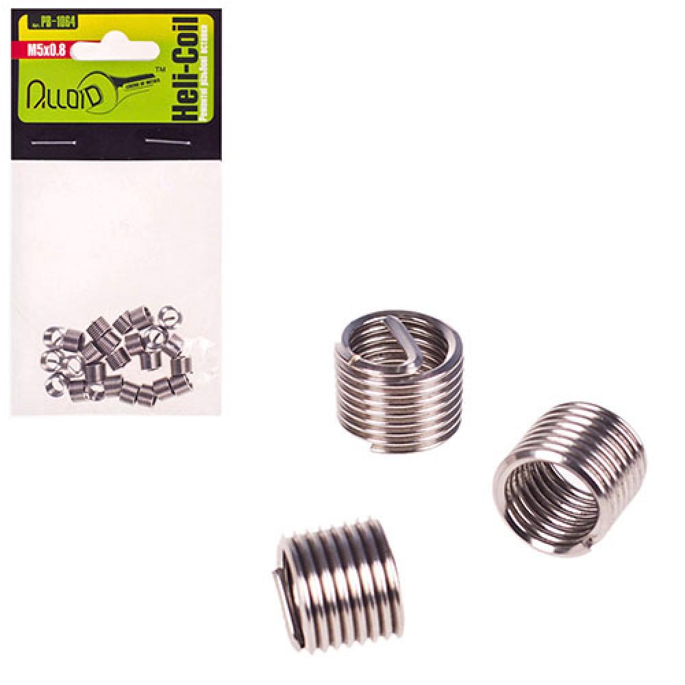 Ремонтные резьбовые вставки M5х0.8, 25 шт/уп. (РВ-1064) (РВ-1064) ALLOID