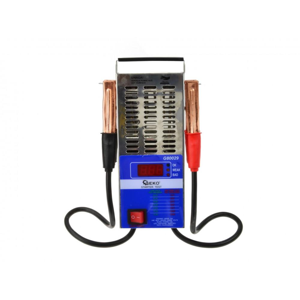 Цифровый аккумуляторный тестер 12V (125A) GEKO G80029