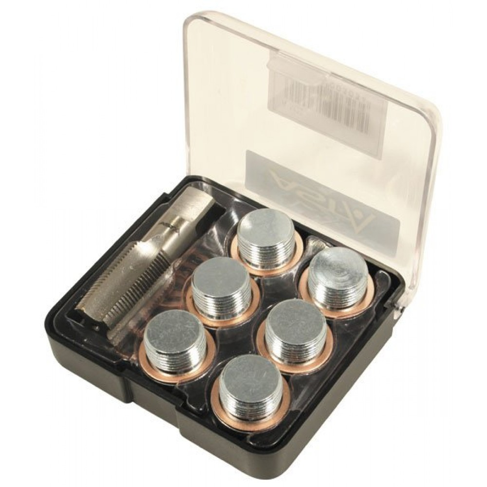 Набор для ремонта резьбы маслослив. горл. M22X1.5 ASTA A-M22