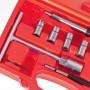 Комплект фрез для чистки седел форсунок, 10 предм. (КФ-3015) ALLOID