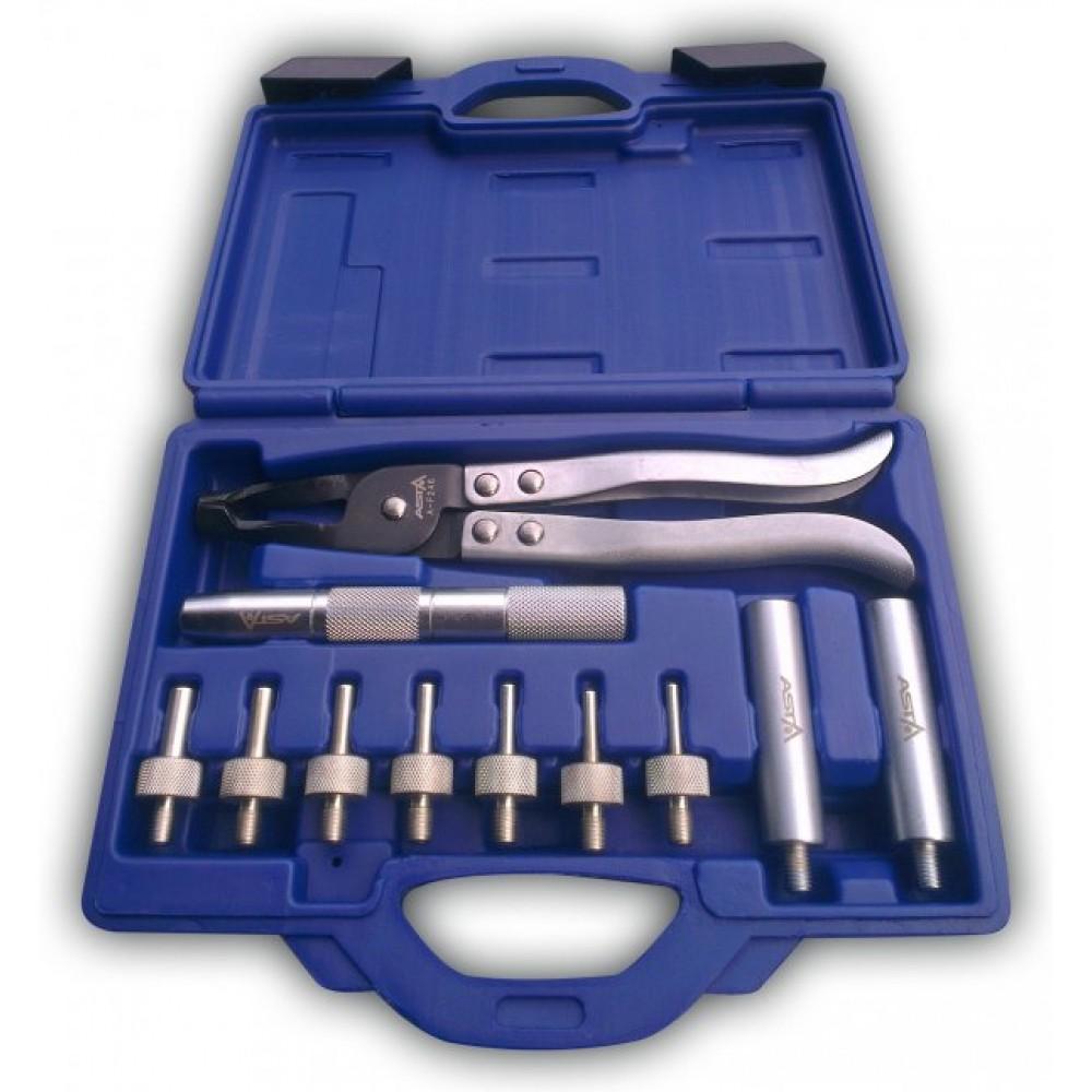 Комплект для де / монтажа сальников клапанов ASTA A-246