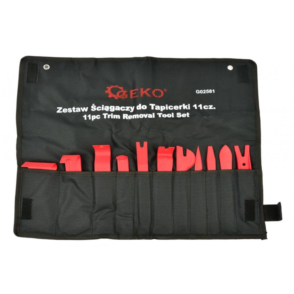 Набор съемников для обивки 11 предметов GEKO G02581