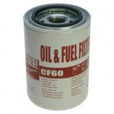 Картридж фильтра 10мк F00611000 для биодизеля, ДТ, бензина, масел 60 л/мин