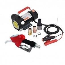 Установка для перекачки дизеля (насос, топливный пистолет со счетчиком, шланги) REWOLT RE SL001C-24V 24в 50л/мин