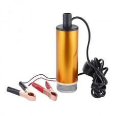 Насос топливоперекачивающий, погружной, с фильтром, в алюминиевом корпусе 50мм. REWOLT (RE SL017-24V)