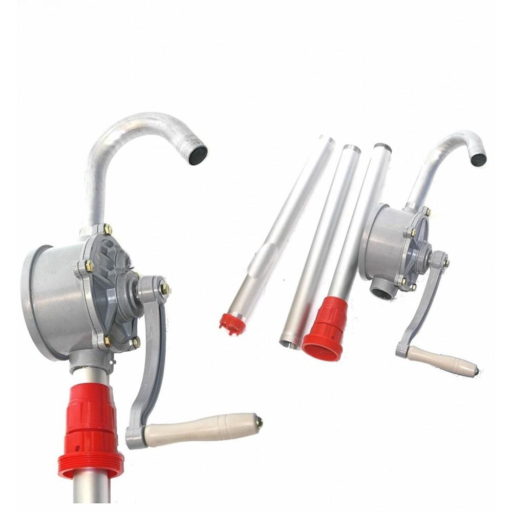 Насос ручной бочковой REWOLT механический (масло и технические жидкости) RE SL007A алюминиевый корпус